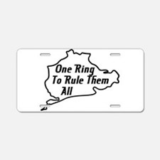 Nurburgring Aluminum License Plate