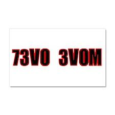73V0 3V0M Car Magnet 20 x 12