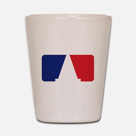 Major League Autocross Shot Glass