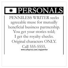 Writer Seeks Muse Poster