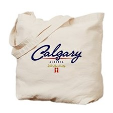 Calgary Script Tote Bag
