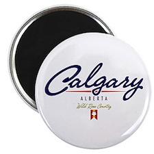 Calgary Script Magnet