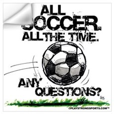 All Soccer Wall Decal
