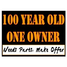 100th Birthday Poster