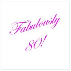Fabulously 80 Poster