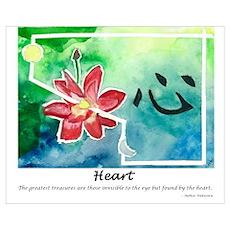 Heart. Tao Meditations Poster