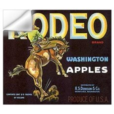 RODEO APPLES * Wall Decal
