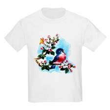 Cute Bluebird Singing T-Shirt