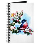 Cute Bluebird Singing Journal