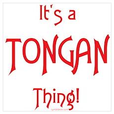 It's a Tongan Thing! Poster