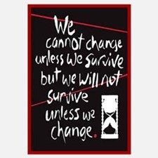 Unique We are change Wall Art