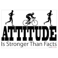 Attitude is Stronger Duathlon Poster