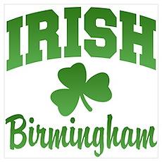 Birmingham Irish Poster
