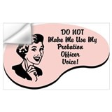 Probation officer Wall Decals