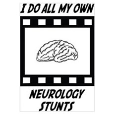 Neurology Stunts Framed Print