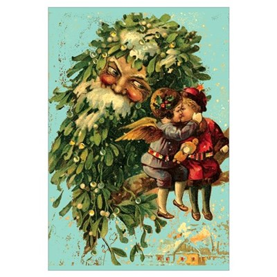 Christmas Santa Claus 11x17 Poster