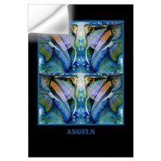 Tropical Fish-Angel Wall Decal