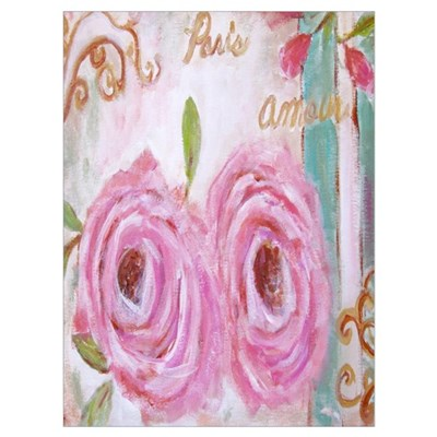 Shabby Chic Roses Poster