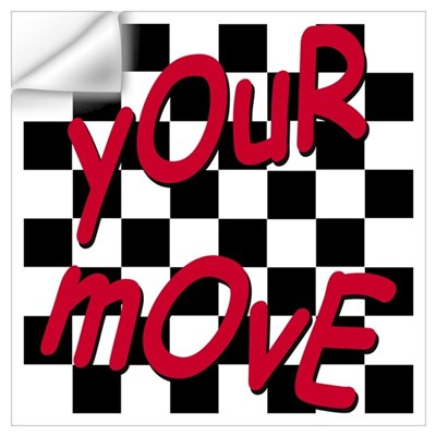 Your Move - Chess Board Wall Decal