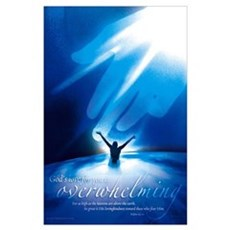 : God's love for you is overwhelming Poster