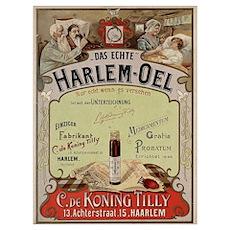 Harlem-Oel Poster