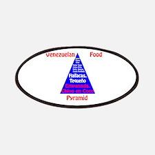 Venezuelan Food Pyramid Patches