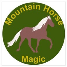 Mnt Horse Magic Canvas Art
