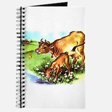 Cute Cow Calf Farm Journal