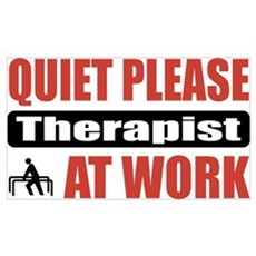 Therapist Work Poster