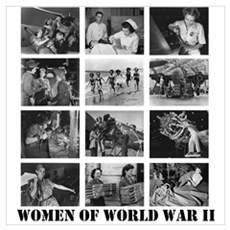 Women of WWII Framed Print