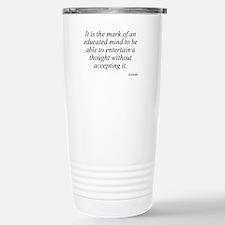 Cute Aristotle Travel Mug