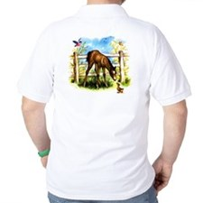 Cute Foal Horse Pony Filly T-Shirt