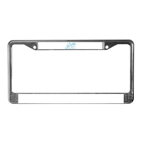 mountain rat sick boarder License Plate Frame