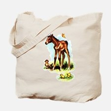 Baby Horse Pony Foal Filly Tote Bag