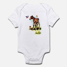 Baby Horse Pony Foal Filly Infant Bodysuit