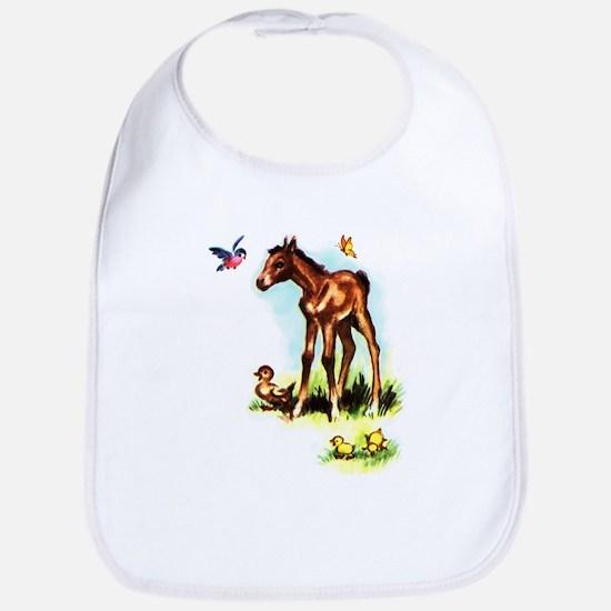 Baby Horse Pony Foal Filly Bib