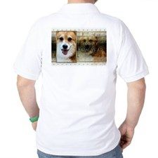 New Year - Golden Elegance - Corgi T-Shirt