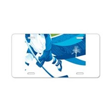 Rink Aluminum License Plate