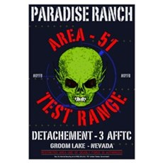 AREA -51 Framed Print
