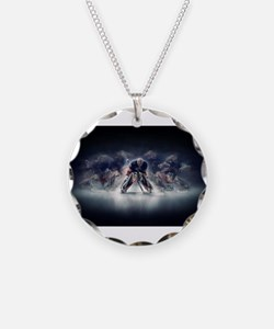 Cute Skate rink Necklace