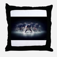 Cute On ice Throw Pillow