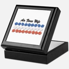 Air Force Wife Keepsake Box