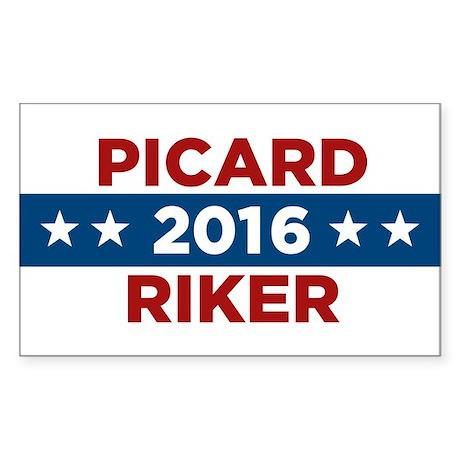 Star Trek 2016 Sticker (Rectangle)