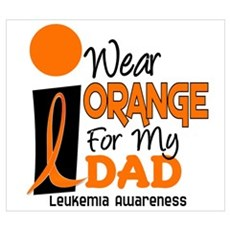 I Wear Orange For My Dad 9 Canvas Art