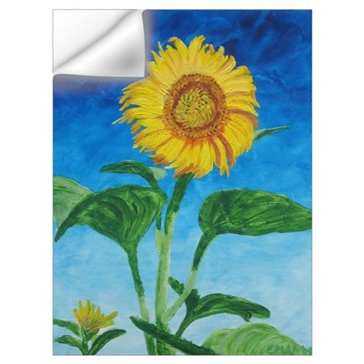 Sunflower in Summer Wall Decal