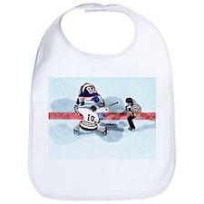 Unique Hockey fight Bib