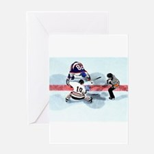 Unique Rink Greeting Card