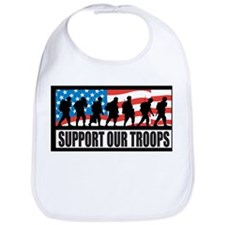 Support our troops - Infantry Bib