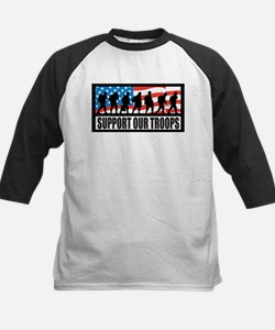 Support our troops - Infantry Tee