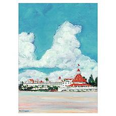 Hotel del Coronado Painting Poster